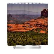 View Of Sedona From The East Shower Curtain