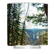 View Of The Canyon Shower Curtain