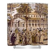 View Of The Jubilee Ball, Ranelagh Shower Curtain