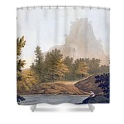 View Of The Jungle Shower Curtain