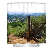 View Of The Ojai Valley Shower Curtain
