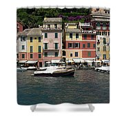 View Of The Portofino, Liguria, Italy Shower Curtain