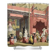 View Of The Sweden, Norway And Denmark Shower Curtain