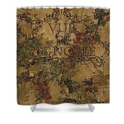 View Of The Vineyard Shower Curtain