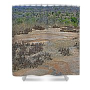 View One From Matekenyane In Kruger National Park-south Africa Shower Curtain