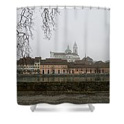 View Over Aare River Shower Curtain