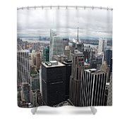 View Over Manhattan  Shower Curtain