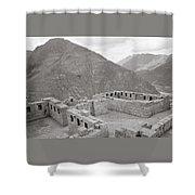 Landscape Of Pisac Shower Curtain