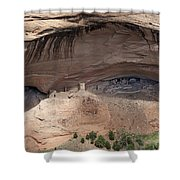 View To Mummy Cave Shower Curtain