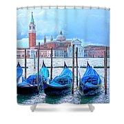 View To San Giorgio Maggiore Shower Curtain