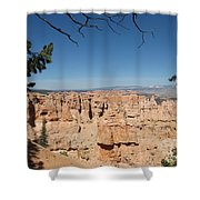 Viewpoint At Bryce Canyon  Shower Curtain