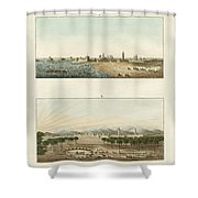 Views Of Africa Shower Curtain