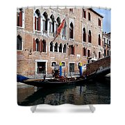 Views Of Venice Shower Curtain