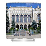 Vigado Concert Hall In Budapest Shower Curtain