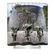 Vigelands Fountain 2 Shower Curtain
