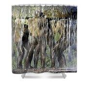 Vigelands Fountain Shower Curtain