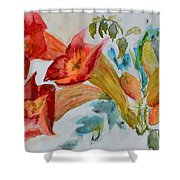 Vigne Provincial Shower Curtain