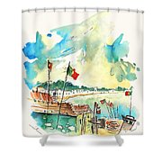 Vila Cha 03 Shower Curtain