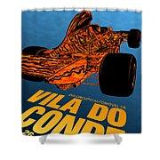 Vila Do Conde Portugal 1972 Grand Prix Shower Curtain