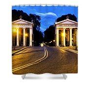 Villa Borghese Shower Curtain