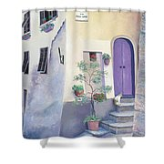 Villa Degli Algeri Tuscany Shower Curtain