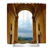 Villa Deste Tivoli Italy Shower Curtain