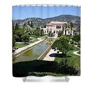 Villa Ephrussi De Rothschild And Garden Shower Curtain