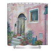 Villa In Il Borro Tuscany Shower Curtain