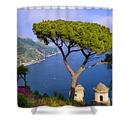 Villa Rufolo Shower Curtain