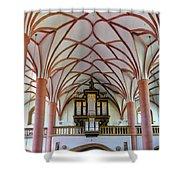 Villach Organ Shower Curtain