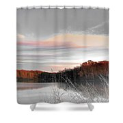 Village Creek Ar Morning Shower Curtain