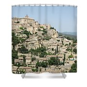Village Of Gordes Shower Curtain
