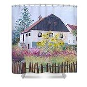 Village Of Kumrovec Croatia Shower Curtain