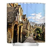 Village Of Winchcombe Shower Curtain