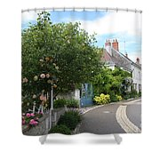 Village Road Shower Curtain