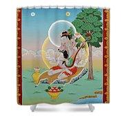 Vinapa Mahasiddha Shower Curtain