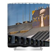 Vince Lomardi Xlviii  Shower Curtain