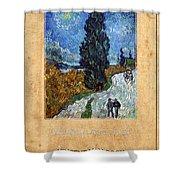 Vincent Van Gogh 4 Shower Curtain
