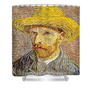 Vincent Van Gogh Quotes 6 Shower Curtain