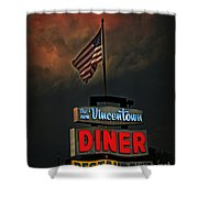 Vincentown Diner Shower Curtain