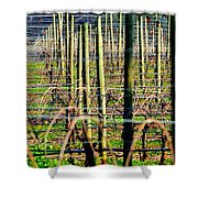 Vines Poles 22649 Shower Curtain