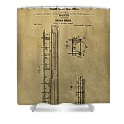 Vintage Abraham Lincoln Patent Shower Curtain