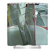 Vintage Airplane Four Shower Curtain