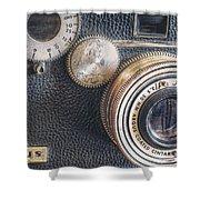 Vintage Argus C3 35mm Film Camera Shower Curtain