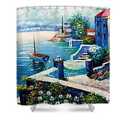 Vintage Art Shower Curtain