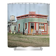 Vintage Bank Shower Curtain