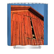 Vintage Barn Aglow Shower Curtain