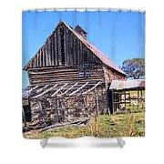 Vintage Barn Beauty II Shower Curtain