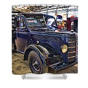 Vintage Bedford  Pickup Truck Shower Curtain by Douglas Barnard