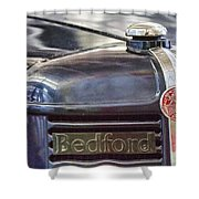 Vintage Bedford Truck Shower Curtain